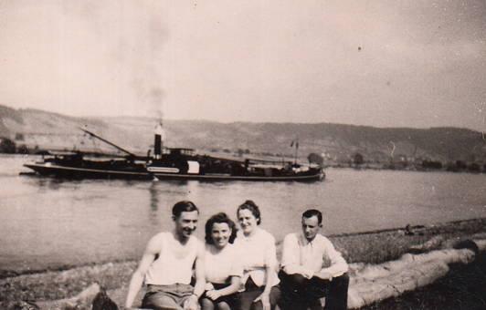 Ein Urlaubstag am Rhein