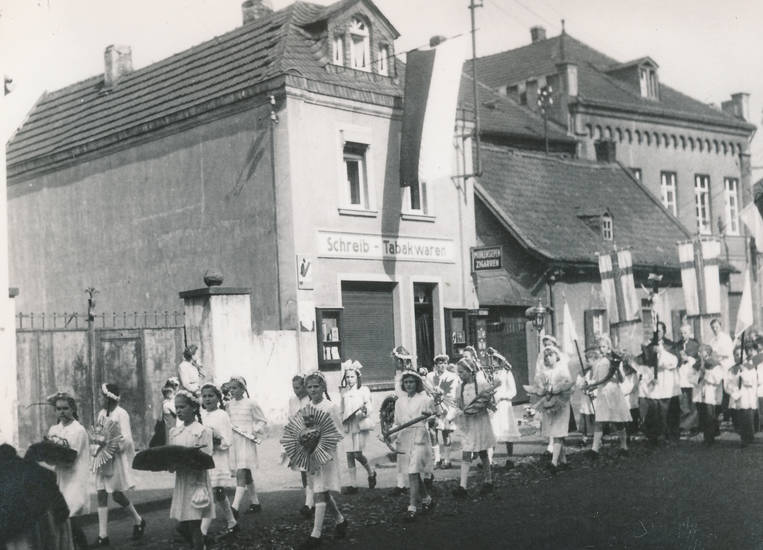 Brauweiler, feiertag, Fronleichnam, kirche, Prozession, Pulheim, Religion