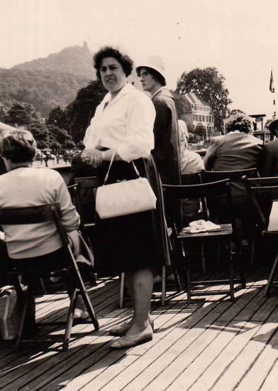 ausflug, deck, Handtasche, Rhein, Rheinfahrt, schiff, Schifffahrt, Schiffsdeck, Stuhl
