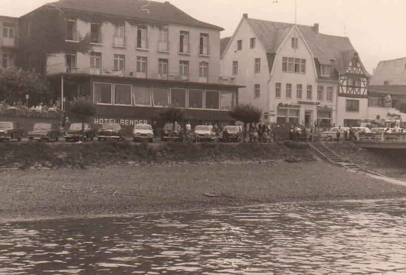 auto, Bad Breisig, Hotel, hotel bender, KFZ, PKW, Rhein, Rheinufer