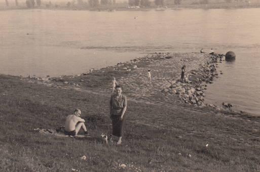 Badefreude am Rhein