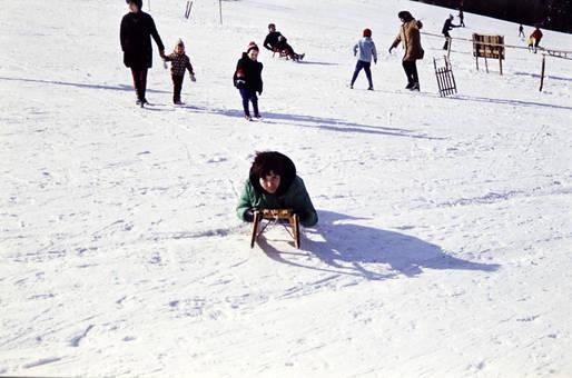 Tag im Schnee