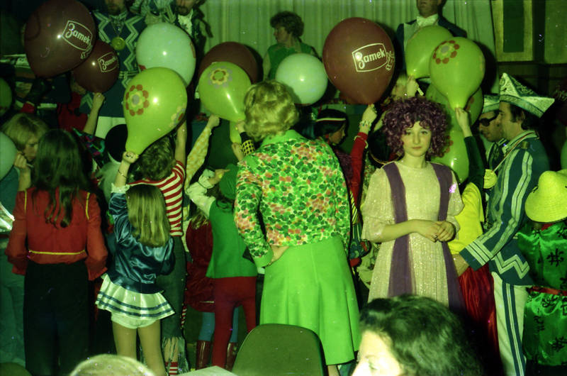 karneval, Luftballon, Muster, Perücke, verkleidung, Zamek