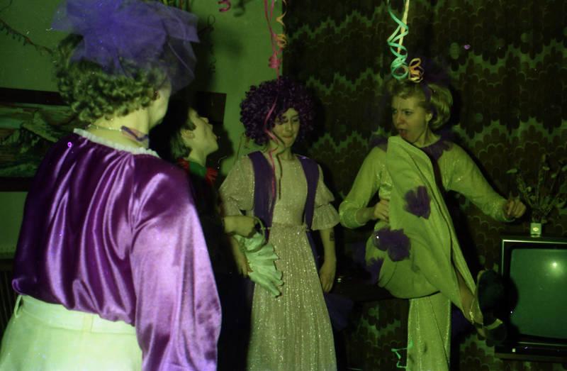 feier, Fernseher, karneval, Kostüm, Luftschlange, party, verleidung