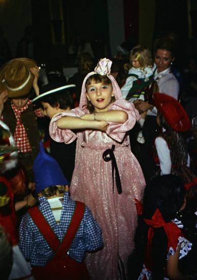 Bezaubernde Jeannie, feier, karneval, verkleidung