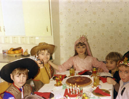 Kinderkarneval Zuhause