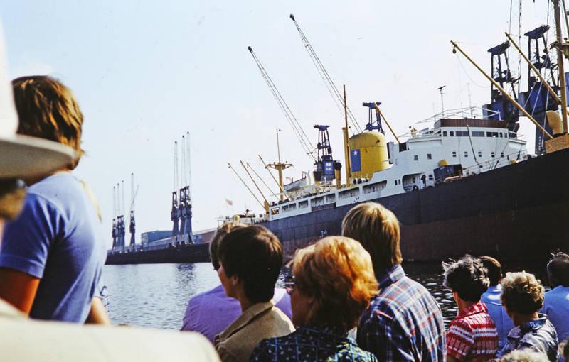 besichtigung, Bremen, ferien, Hafen, reise, reisegruppe, Seehafen, urlaub