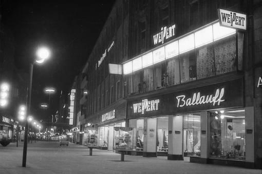 Einkaufsstraße Düsseldorf