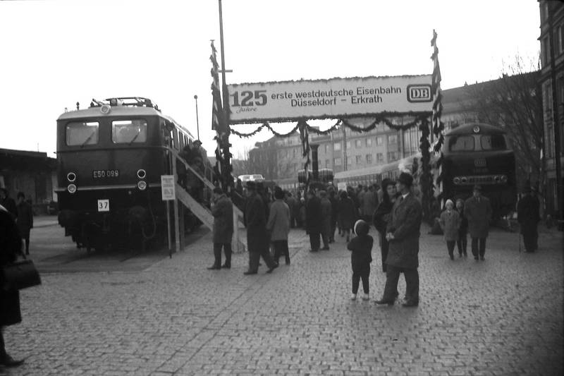 125 Jahre erste westdeutsche Eisenbahn Düsseldorf - Erkrath, Adler, Düsseldorf, Düsseldorf Hbf, Eisenbahn, Eisenbahnausstellung, erkrath