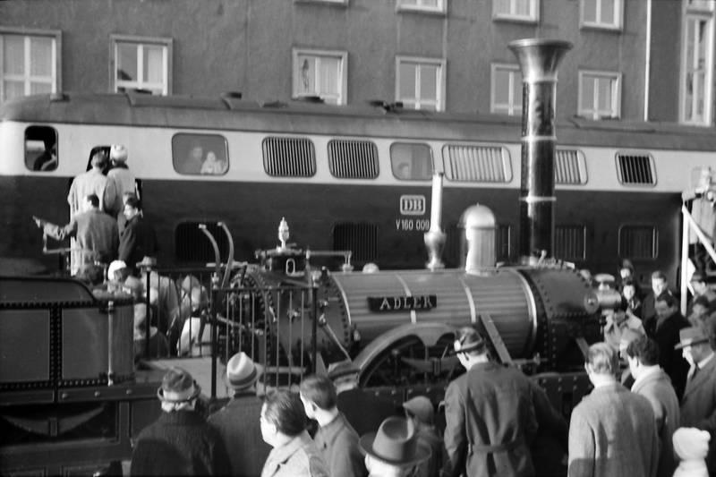 Adler, ausstellung, DB, Düsseldorf Hbf, Eisenbahn, eisenbahnstrecke, erkrath, mode, nachbau