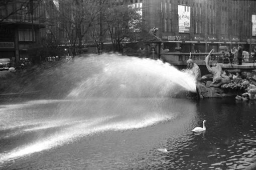 Tritonenbrunnen 1963