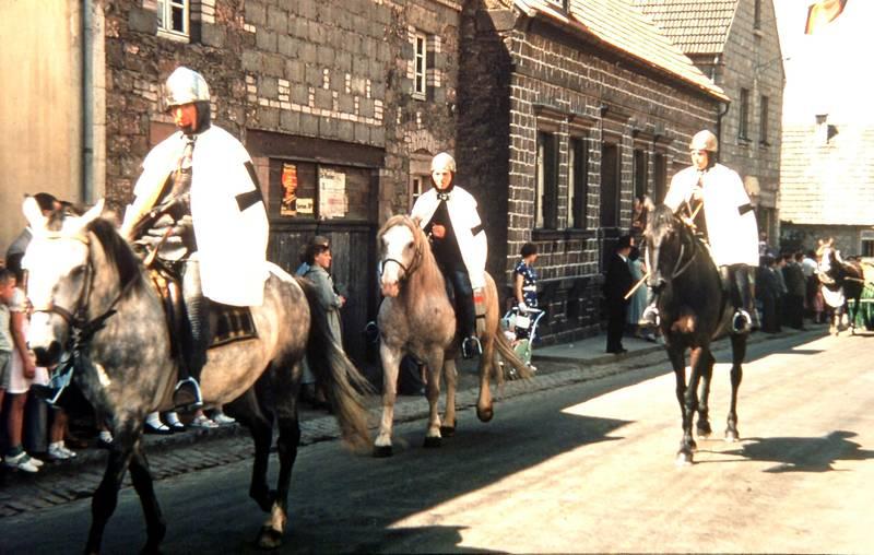 Historisch, Historischer Umzug, miesenbach, Pferd, ritter