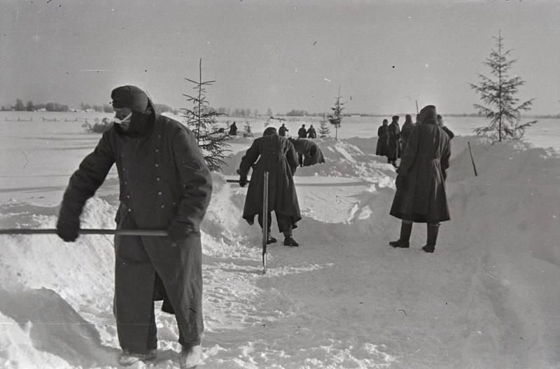 Kriegswinter, Nationalsozialismus, ostfront, schnee, Wehrmacht, winter, WW2, zweiter weltkrieg