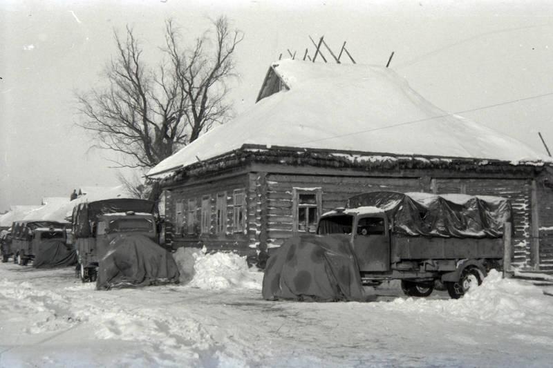 LKW, ostfront, schnee, Wehrmacht, winter, WW2, Zweiter Weltkkrieg