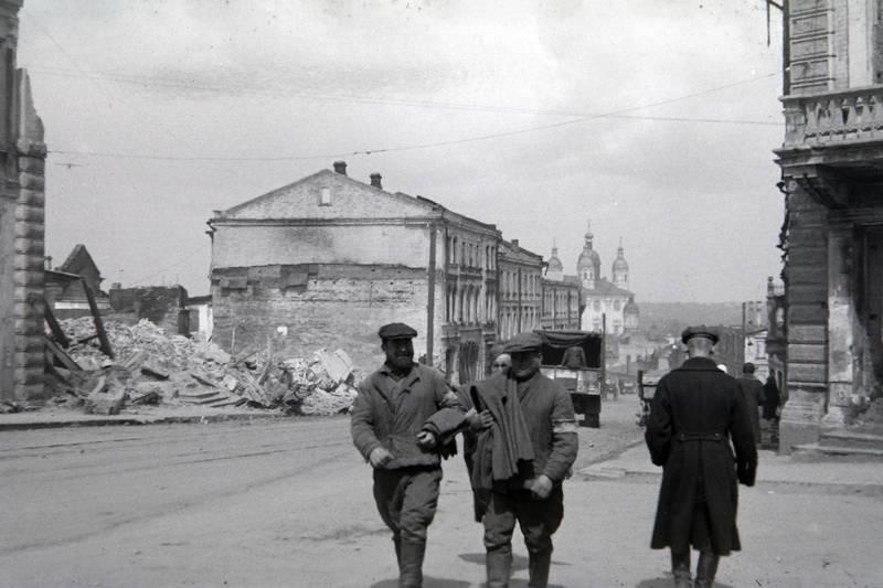2.Weltkrieg, ostfront, Rußland, Russland, Smolensk, Weltkrieg, Zerstörung, zweiter weltkrieg