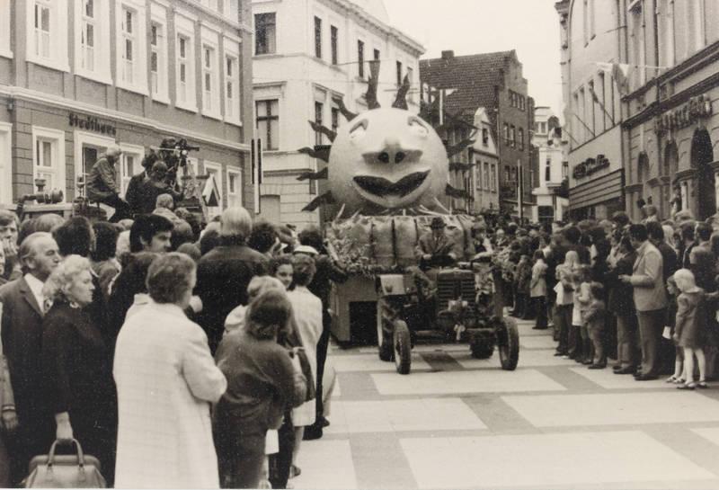 750 Jahre Beckum, Jubiläum, Münsterland, traktor, Trecker, Westfalen