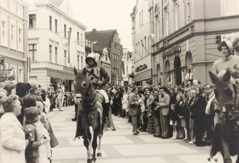 750 Jahre Beckum, Jubiläum, Münsterland, Pferd, Reiter, Westfalen