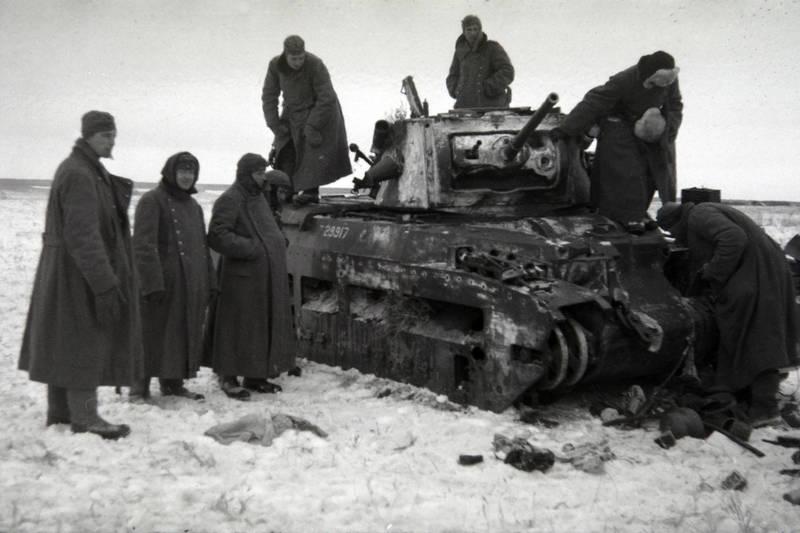 Panzer, schnee, Soldaten, Wehrmacht, Weltkrieg, winter