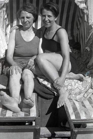 badeanzug, Bikini, mode, Strandkorb