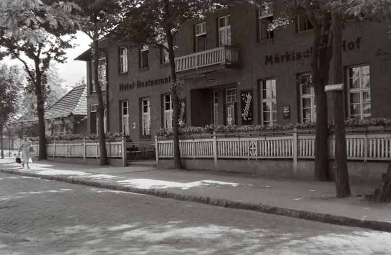 Gaststätte, Hoel, Märkischer Hof, restaurant