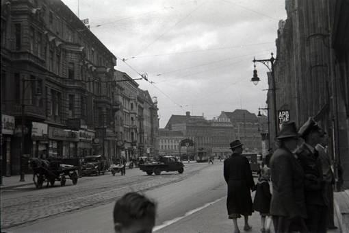 Berliner Großstadtleben