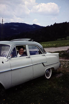 Kapitänin eines Opels
