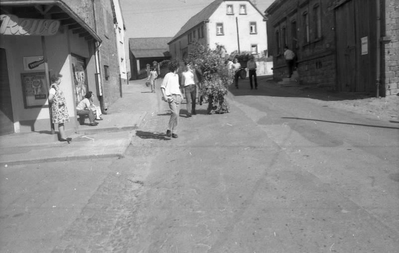 miesenbach, Pfingsten, Pfingstquack, tradition
