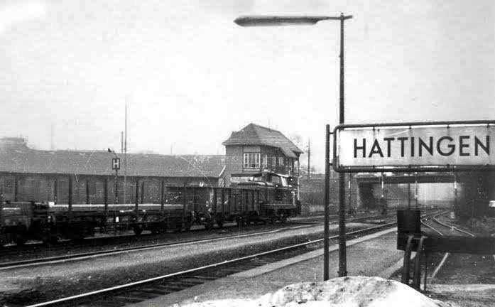 bahnhof, Güterzug, Hattingen