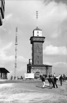 Feldberg Aussichtsturm 1964