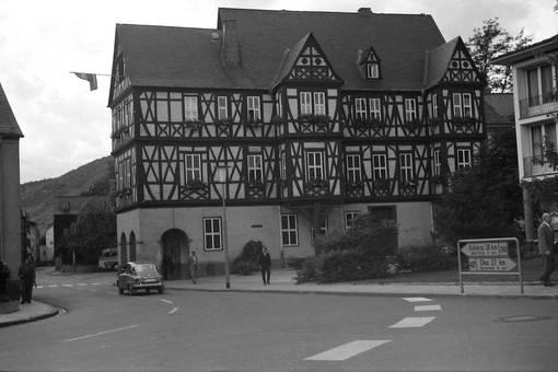 Rathaus von Nassau 1964