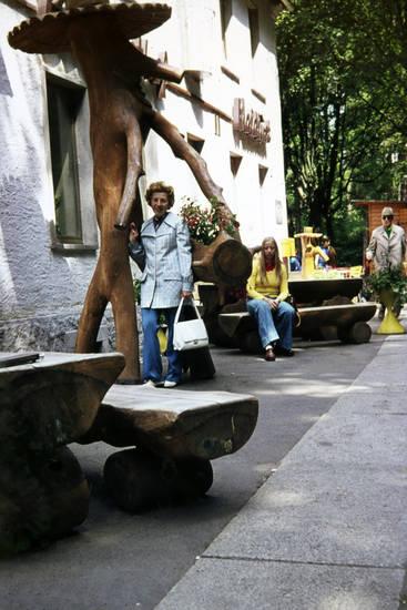 ausflug, familie, Gasthof, restaurant, wald, waldlust