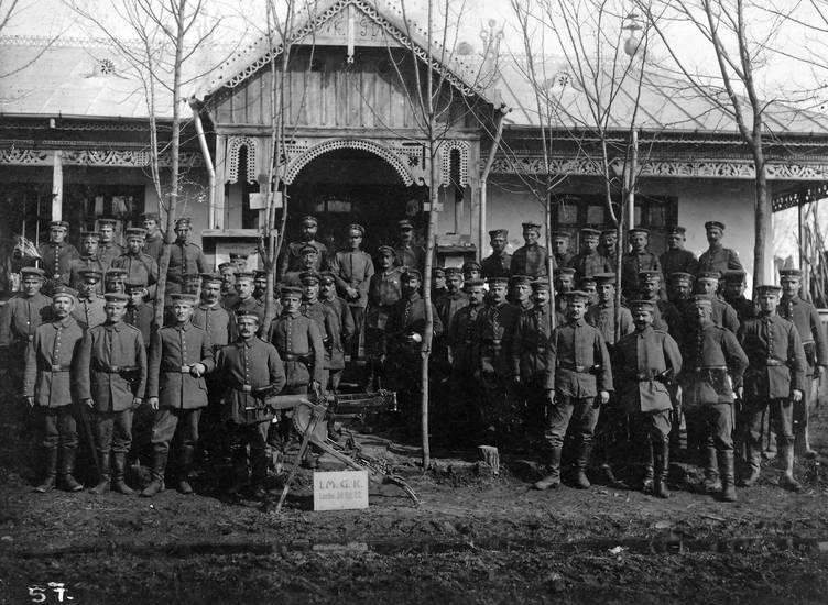 1. Weltkrieg, Erster Weltkrieg, Gewehr, haus, Infanterie-regiment, Kompanie, Landwehr-Infanterie-Regiment22, Maschinengewehr, soldat, Uniform