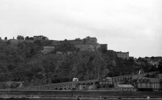 Blick auf eine Burg