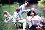 Picknick am Wasser