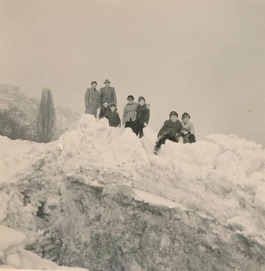 ausflug, Eis, schnee, spaziergang, winter