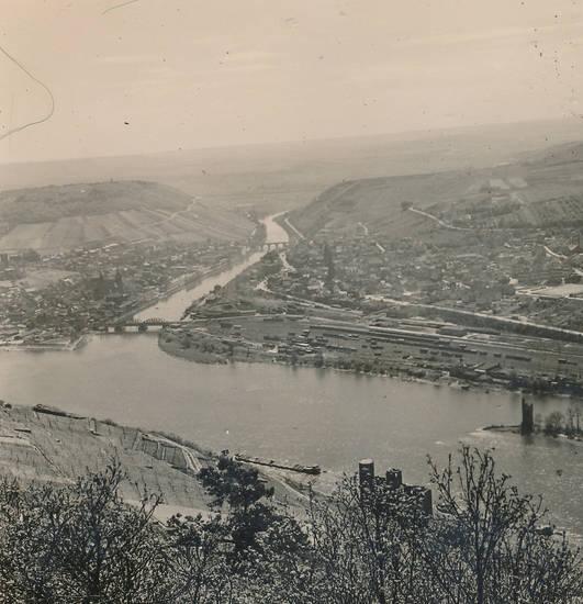 brücke, fluss, Rhein, Rhein-Nahe-Eck, stadt