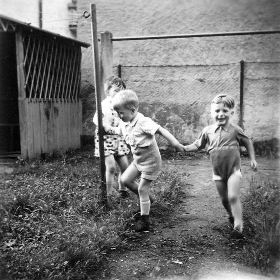 garten, Kindheit, rennen, Spaß, toben