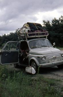 Automobil Fiat 500