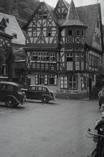 Bacharach, fachwerk, Fachwerkhaus, Gasthof Altes Haus