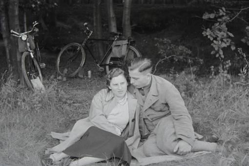 Verliebtes Picknick