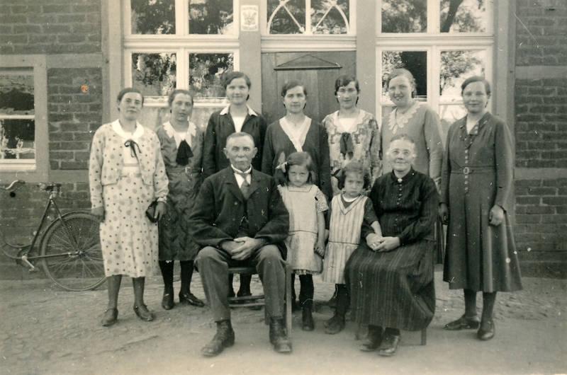 familie, familienfoto, kind, Kindheit, mode