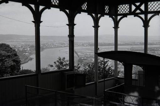 Bergstation mit Ausblick