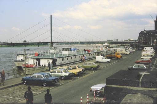 Rheinufer in Düsseldorf