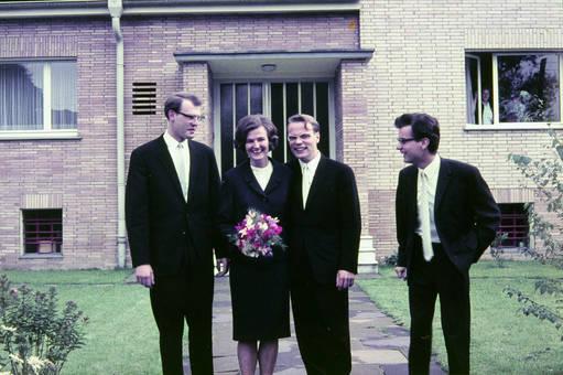 Quartett in Schwarz