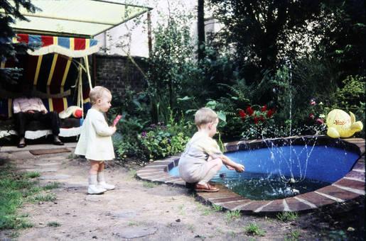 Spaß am Brunnen