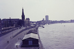 Düsseldorfs Rheinufer