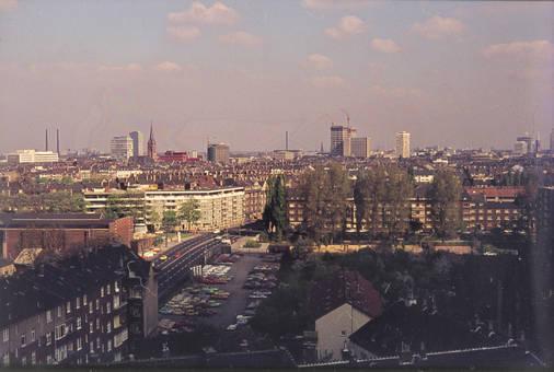 Blick auf Düsseldorf