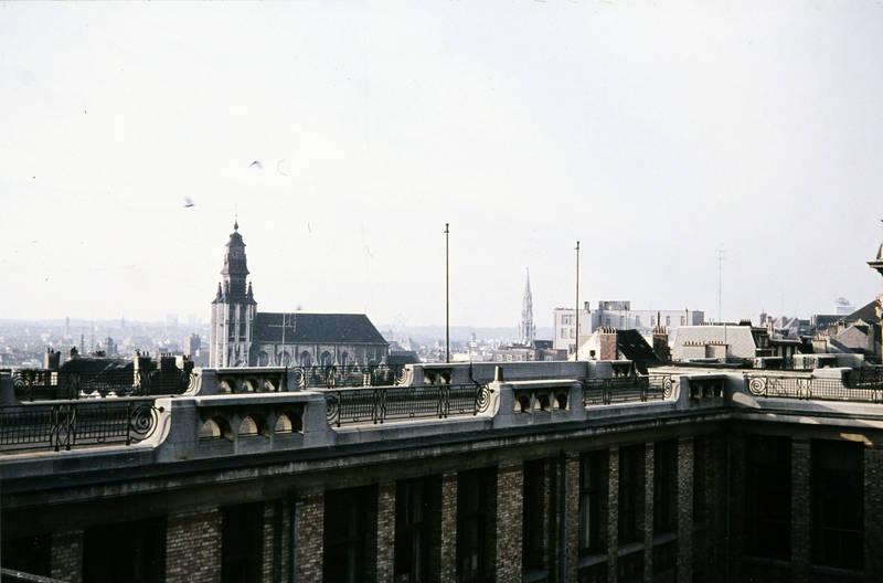 Architektur, belgien, Brüssel, kirche