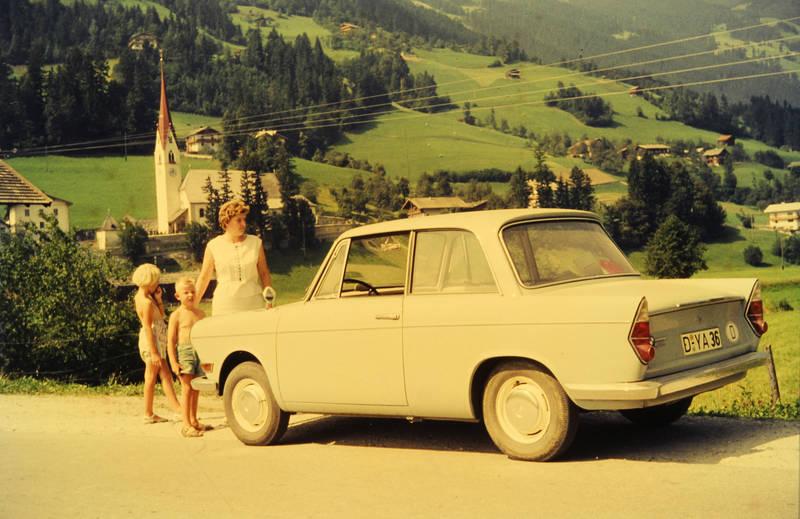 auto, BMW, KFZ, kirche, PKW, reise