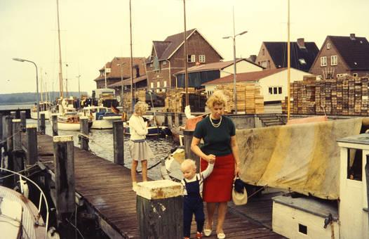 Besuch am Hafen